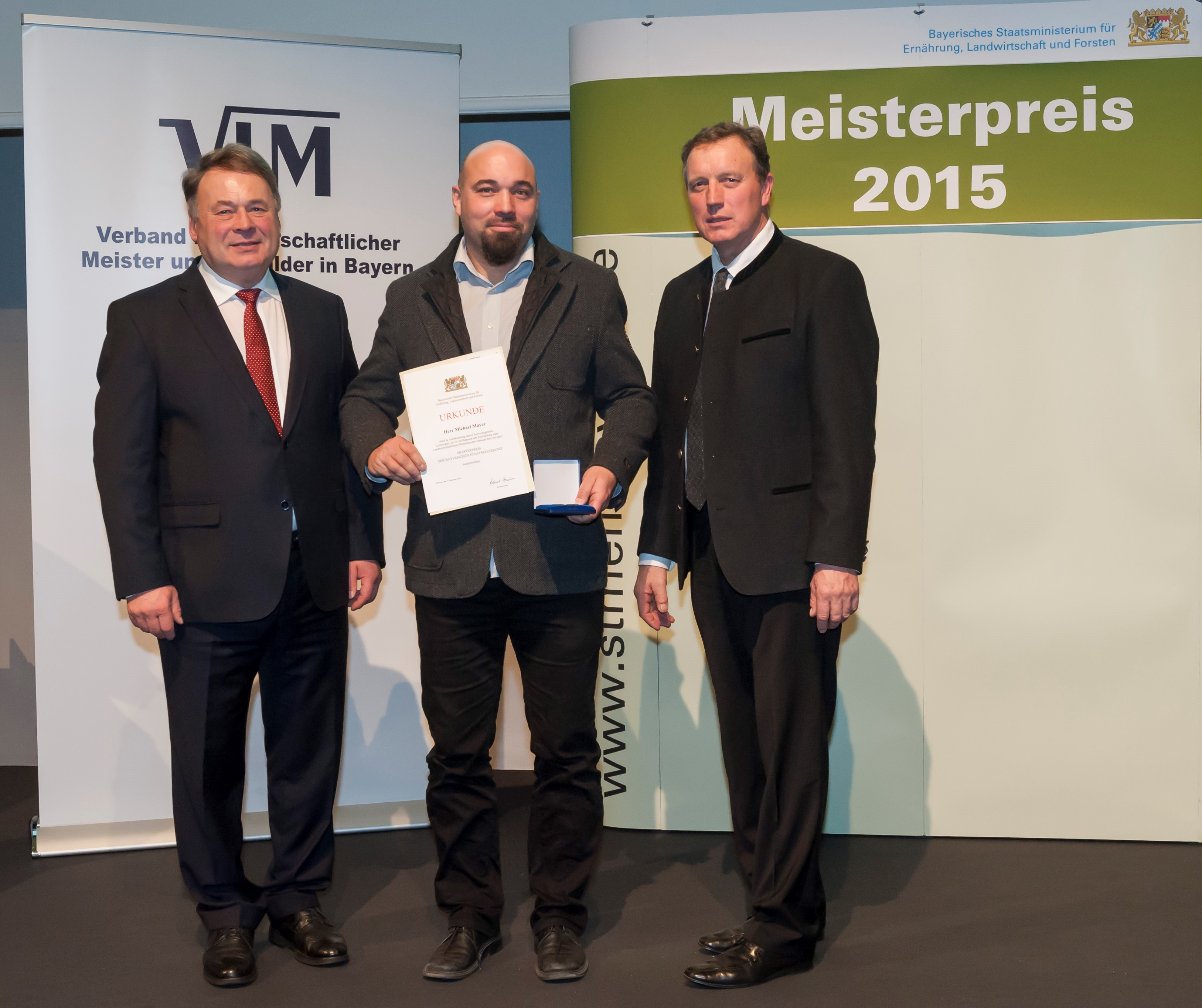 Bayerischer Meisterpreis 2015